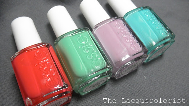 Essie Resort 2013: Swatches and Review! • Casual Contrast