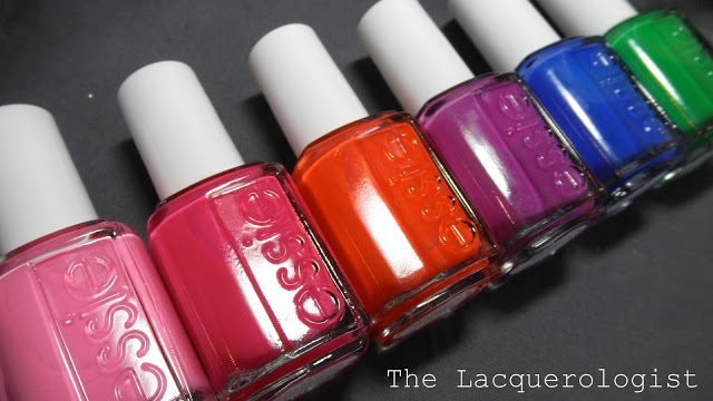 Essie 2013 Neon Collection: Swatches and Review! • Casual Contrast