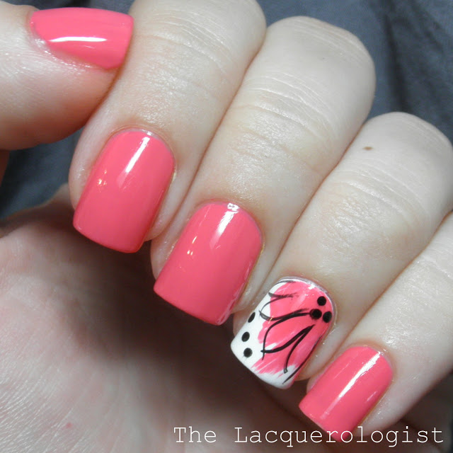 Splash Flowers with butter LONDON and piCture pOlish! [TUTORIAL] • Casual Contrast