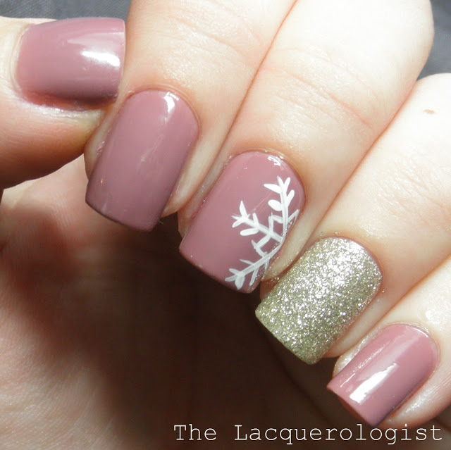 The Perfect January Manicure • Casual Contrast